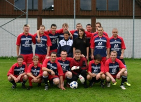 Fußballspiel UJZ vs. Kirchham in St. Veit