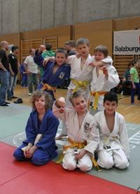 Kyu-Turnier Schüler in Mattighofen