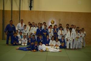 Nikolobesuch beim Judotraining