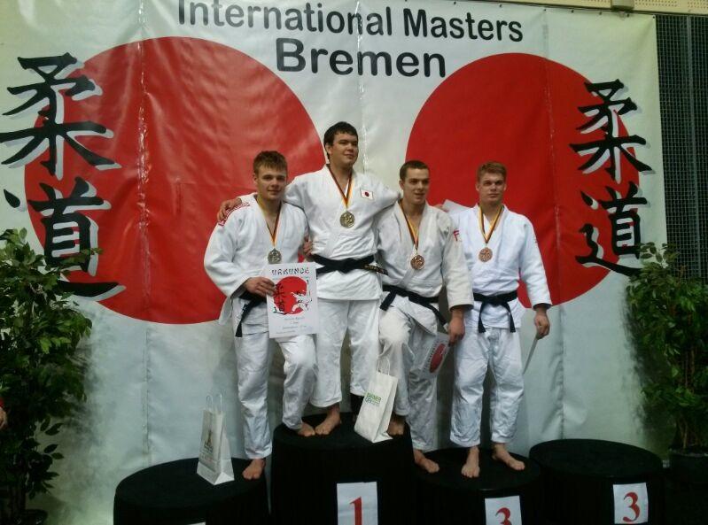 Erfolg beim Int. Bremen Masters