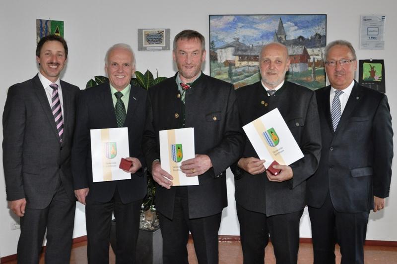 Ehrenring der Gemeinde für unseren Sektionsleiter Ernst