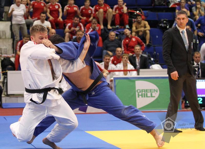 Max bei den Europameisterschaften U21