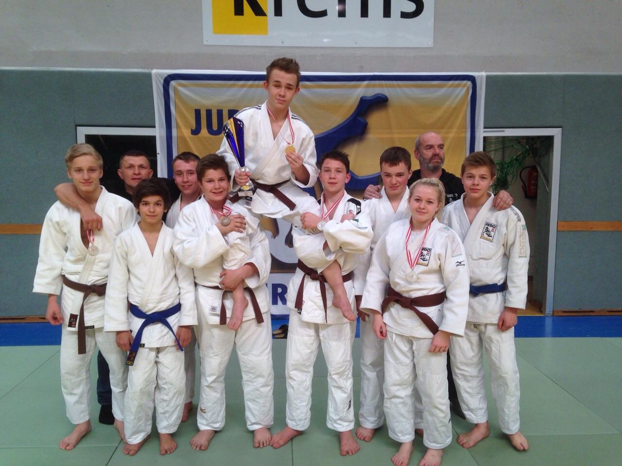 5 Medaillen bei den U16-Staatsmeisterschaften