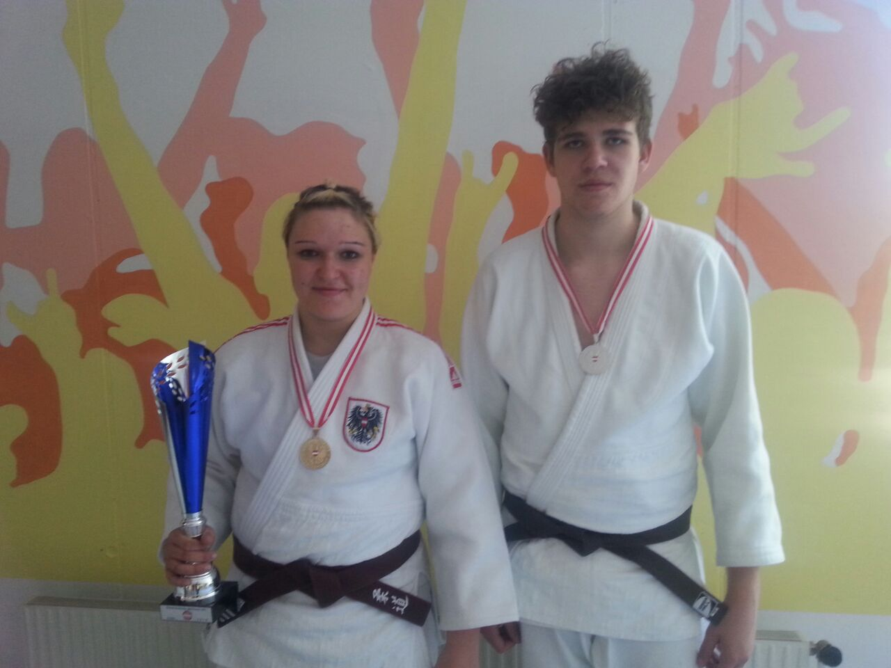 U21-Staatsmeisterschaften – 1.Platz durch Rainer Daniela