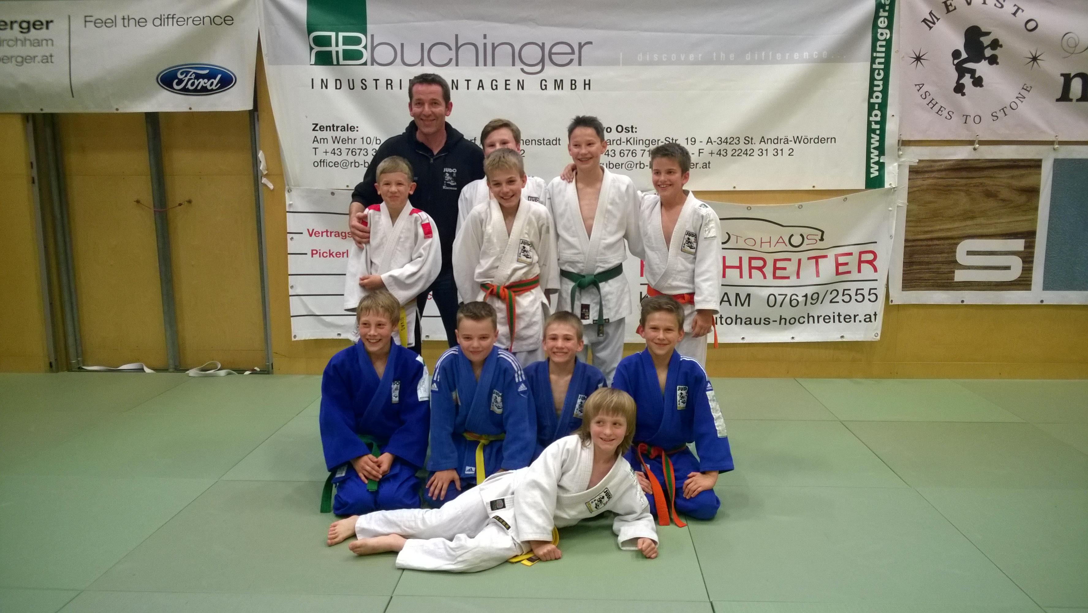Schülerliga 2. Runde gegen Hartkirchen 13:02 Erfolg