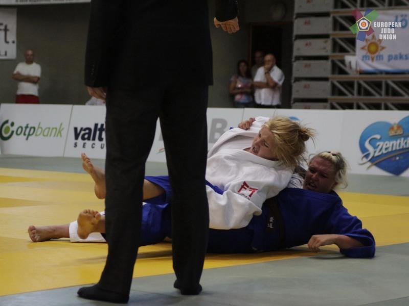 Daniela erreichte beim Junioren-Europacup in Paks den ausgezeichneten 5.Platz