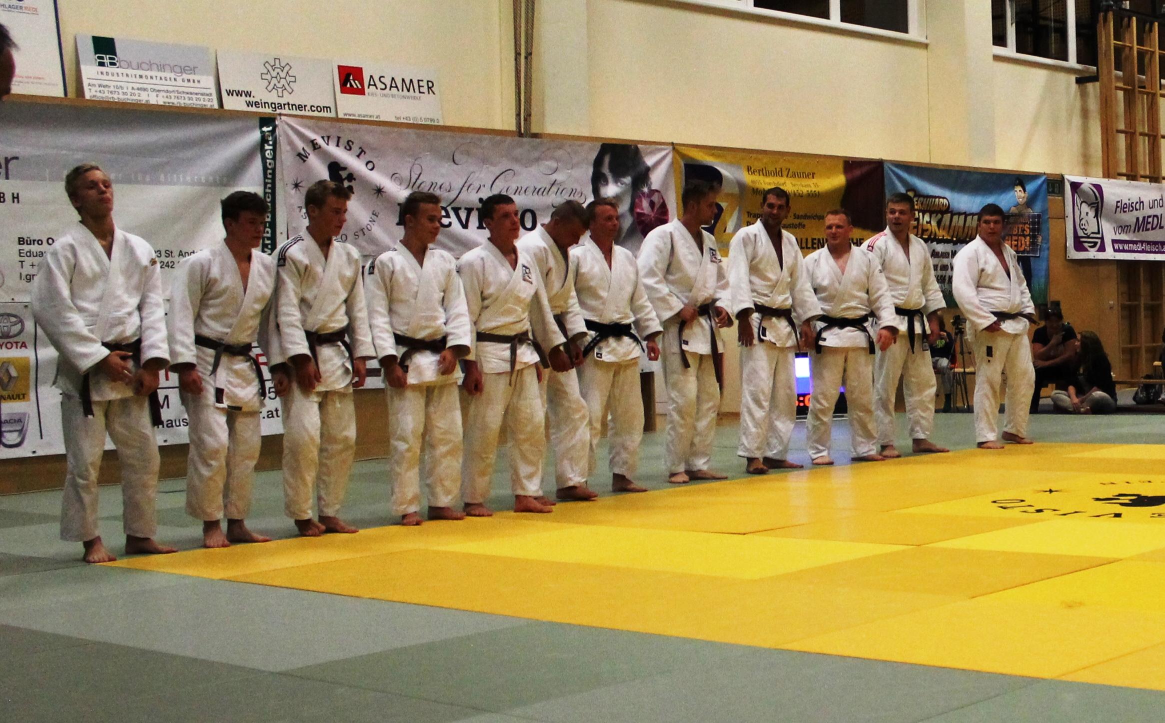 2. Judo Bundesliga : Kirchham gegen Wattens 07:07