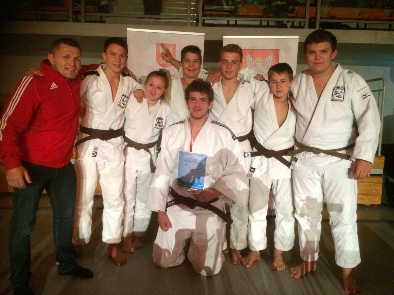 Kirchhamer Judokas beim internationalen Junioren Turnier im polnischen Oleśnica