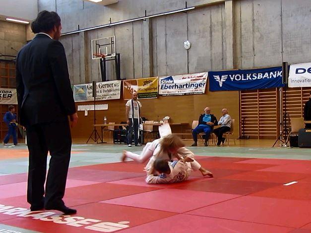Nico Sonntagbauer 1. beim Kyu Turnier in Mattighofen