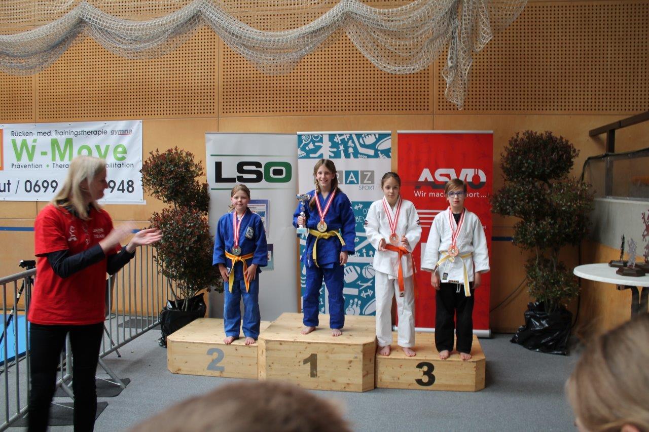Top Leistungen unserer Nachwuchs-Judokas beim int. Turnier in Graz