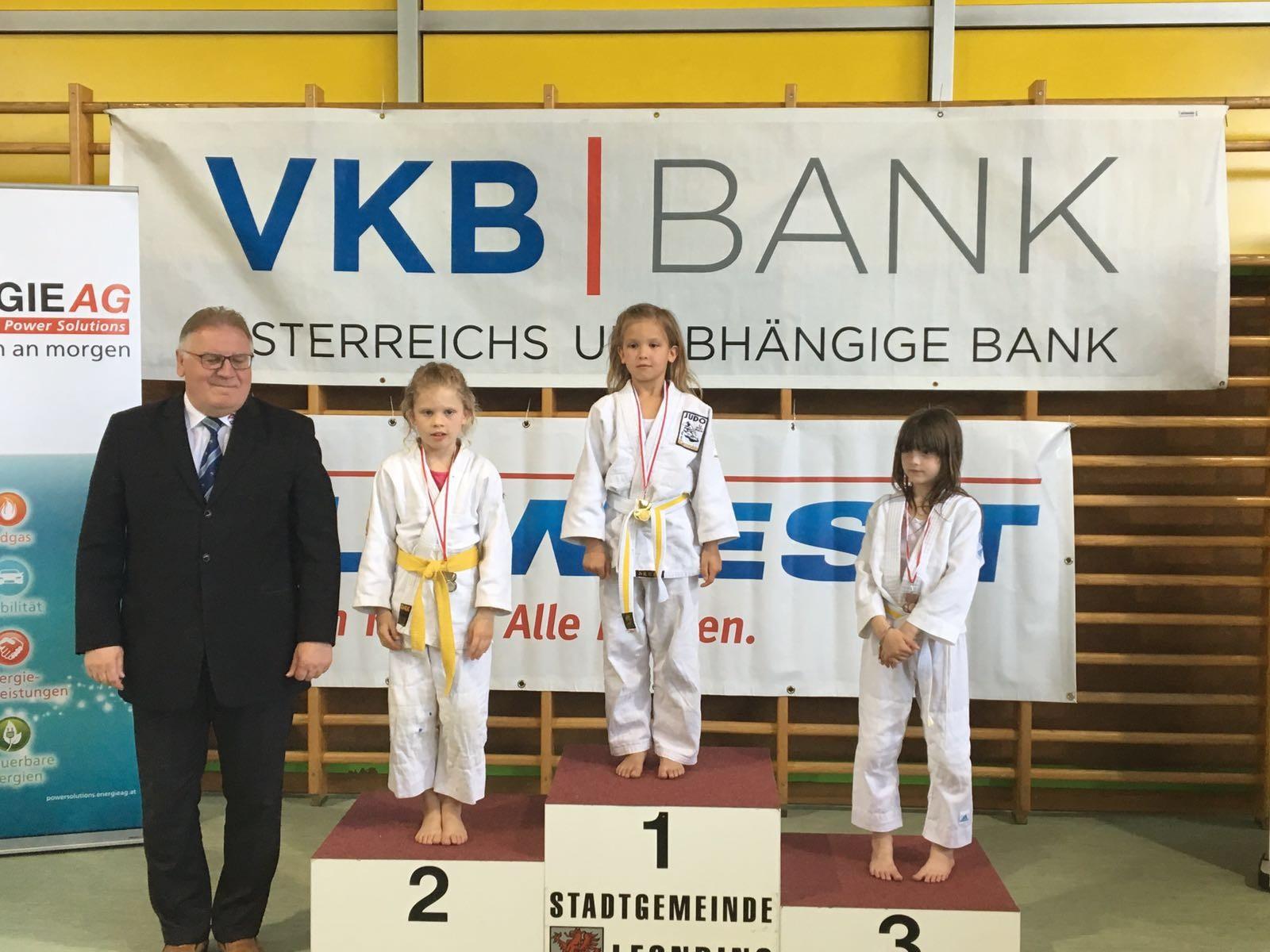 Wieder tolles Ergebnis beim Kyu Turnier in Leonding