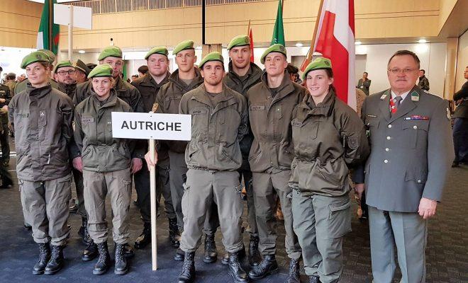 Max 5. bei der Militär-WM in der Schweiz