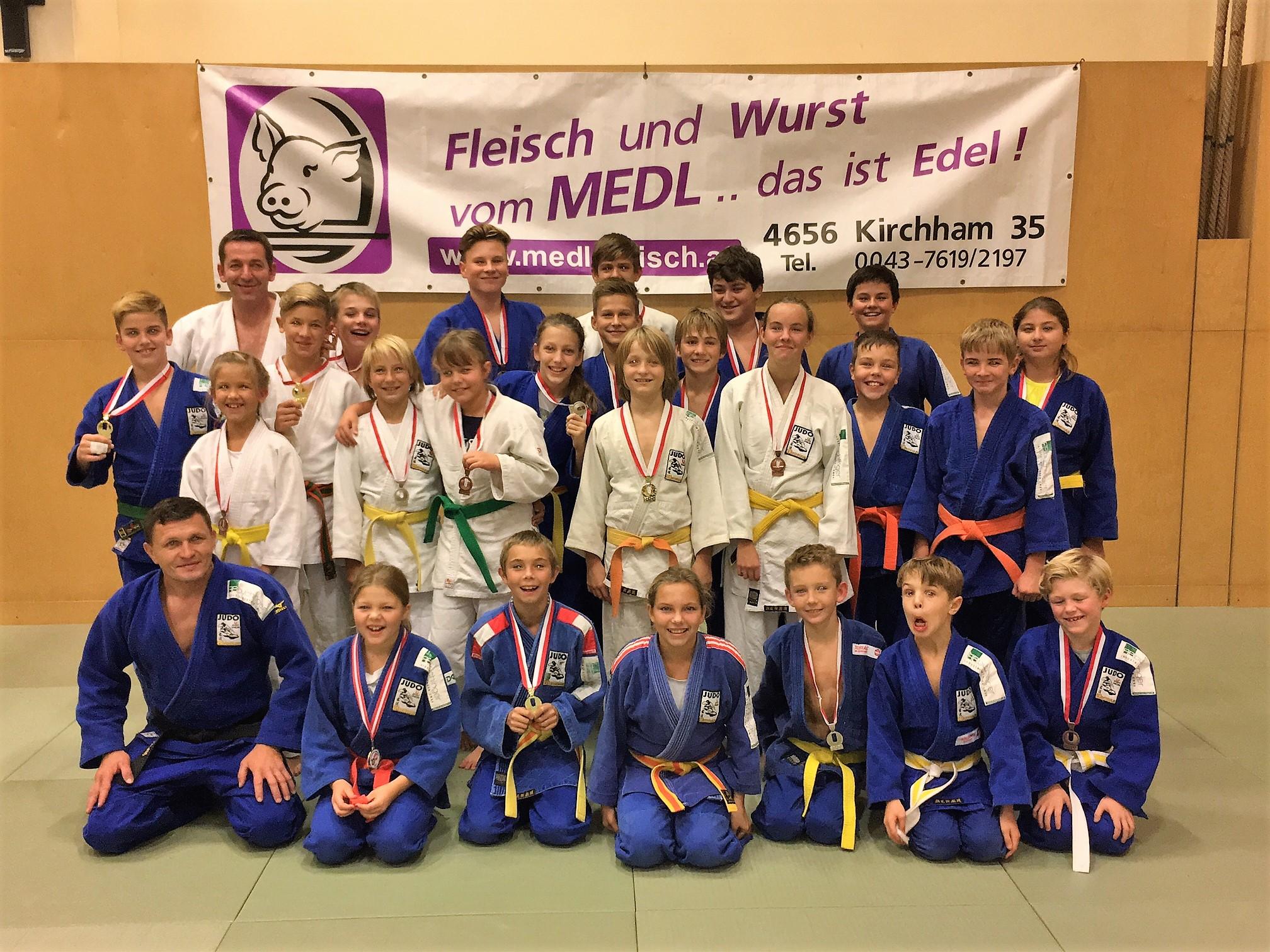 8 Titel bei den Union Landesmeisterschaften in Feldkirch