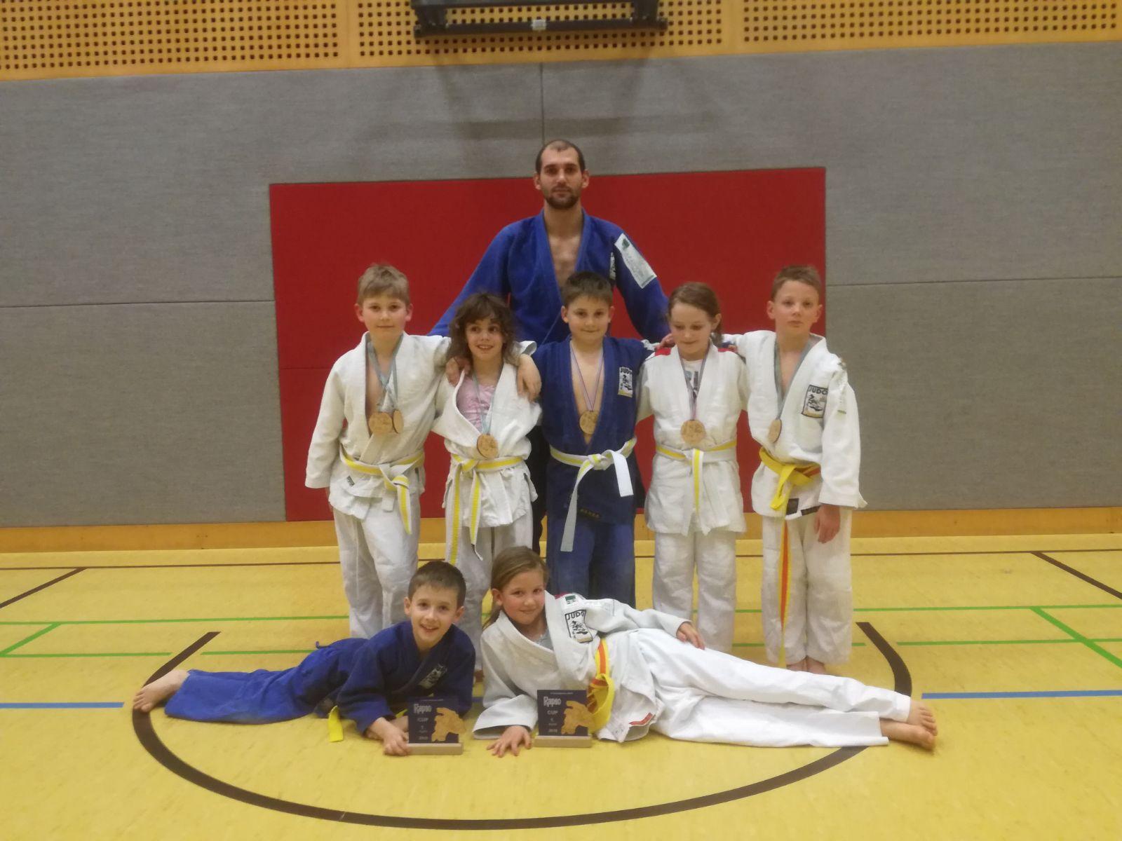 Top Ergebnisse unserer Judoknirpse beim RAPSO Cup U10