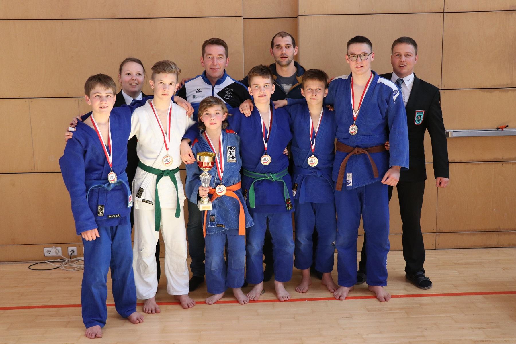 Landesmeister und ein 3. Platz bei den OÖ Schülermannschaft-Landesmeisterschaften in Burgkirchen!!