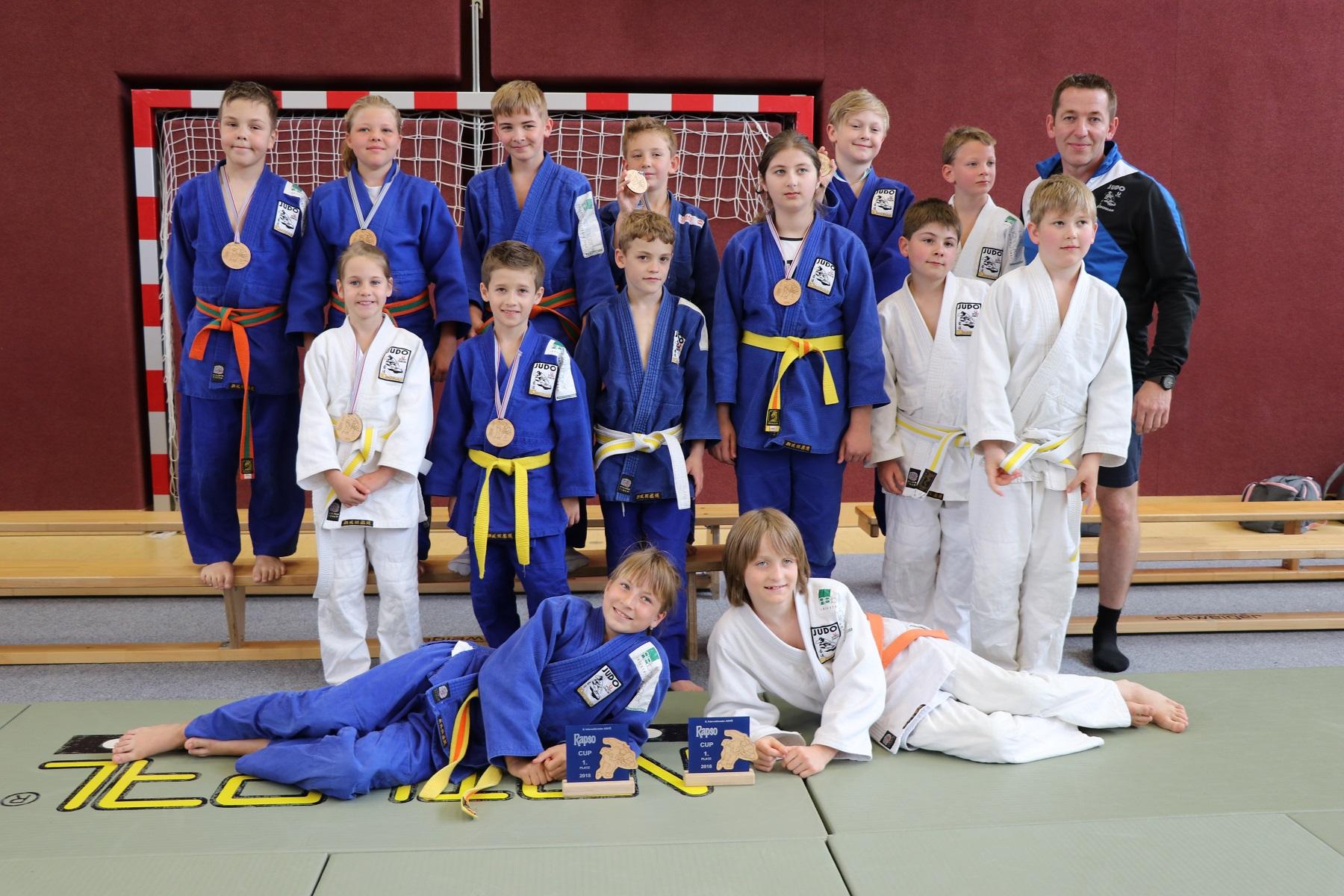Wieder super Leistung unseres Judonachwuchses beim RAPSO Cup U12