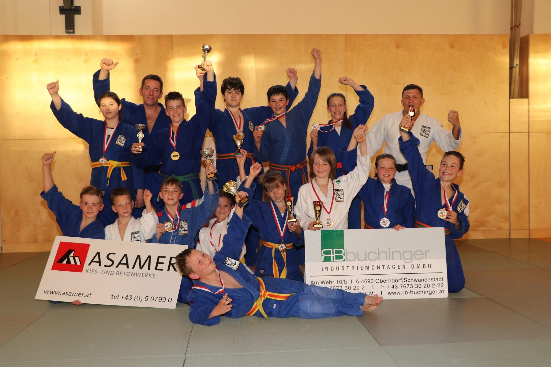 8 Landesmeistertitel bei den OÖ Schülerlandesmeisterschften U10/U12/U14