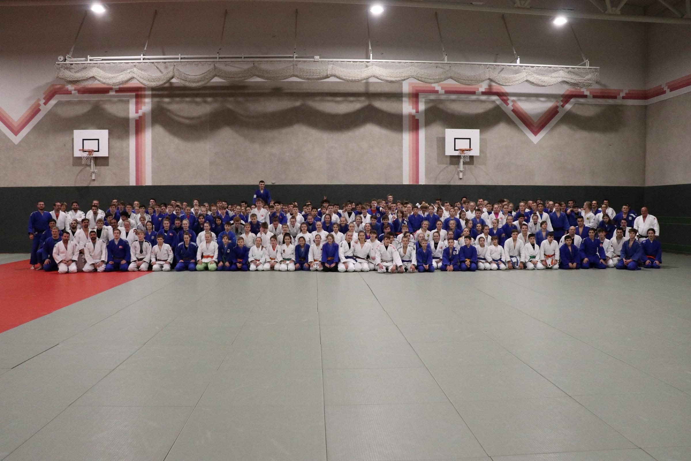 Judo – Neujahrslehrgang auf der Gugl in Linz von 02.01- 06.01.2019