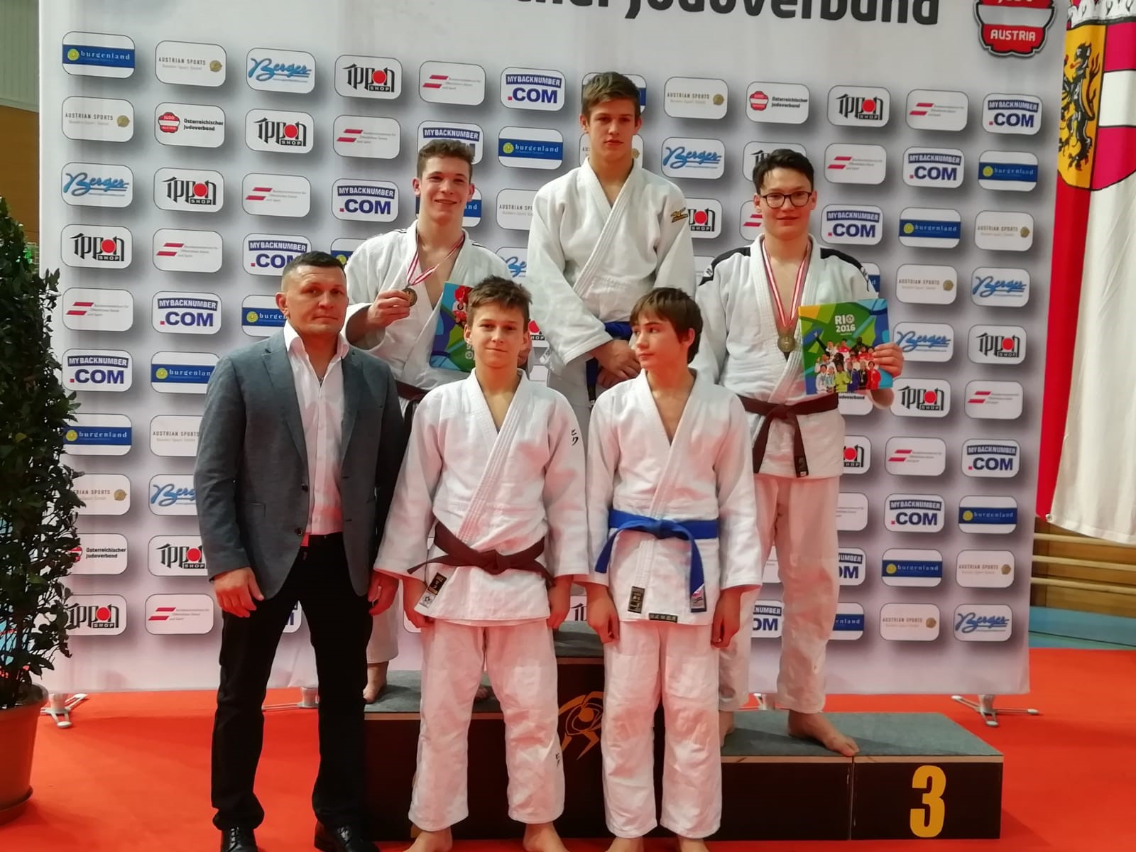 2 Medaillen bei den U18/U23 Staatsmeisterschaften