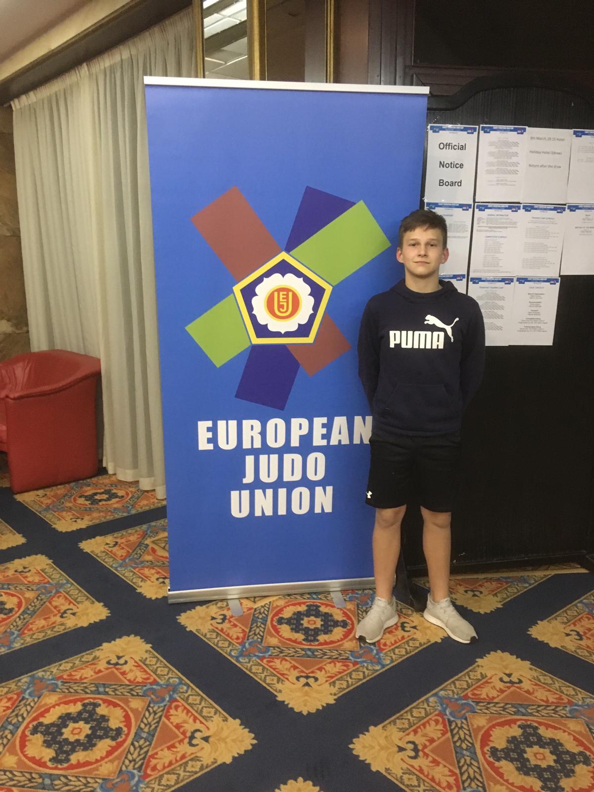 Sosnowski Dennis ist beim U18 Europacup in Zagreb gestartet
