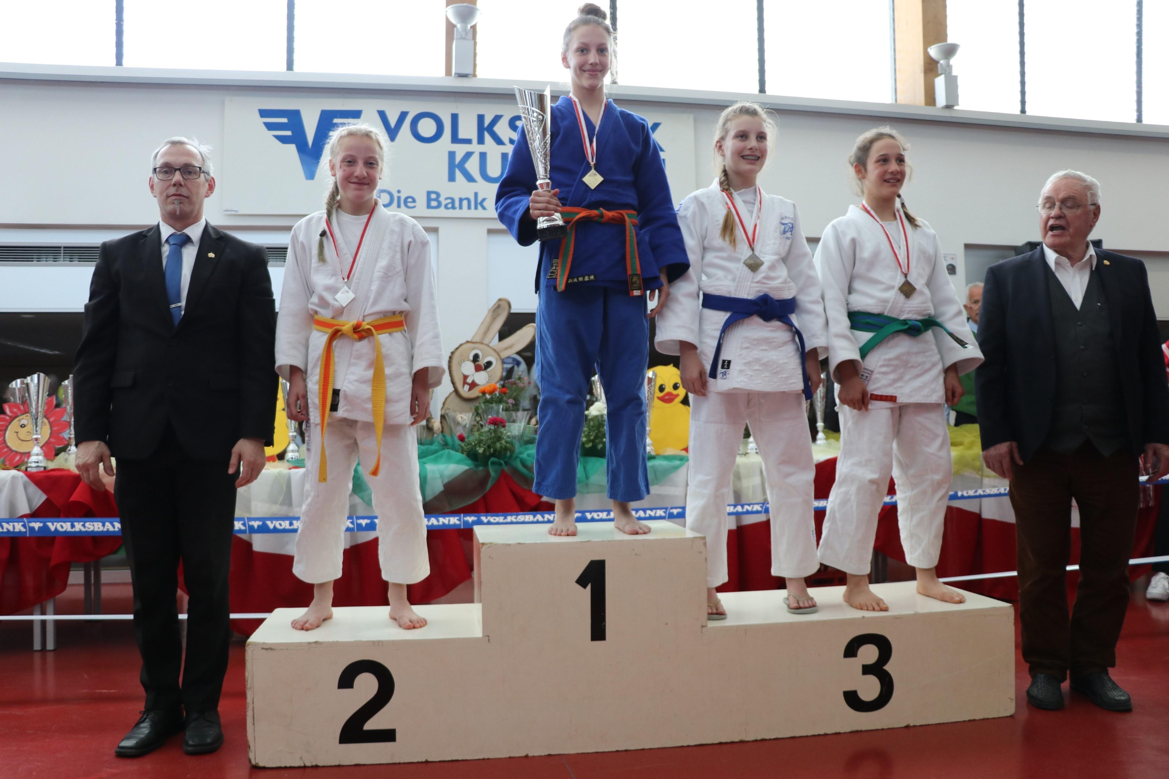Super Ergebnis beim Int. Judo Osterpokalturnier in Kufstein