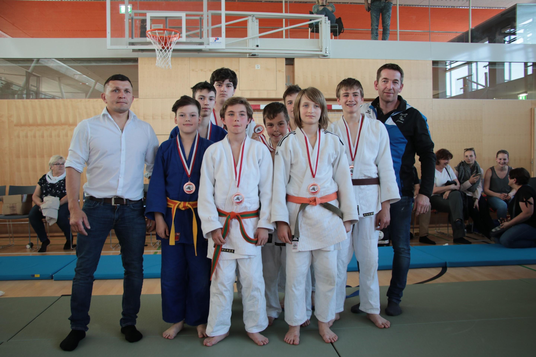 3. Platz bei den OÖ Schüler Mannschaftslandesmeisterschaften