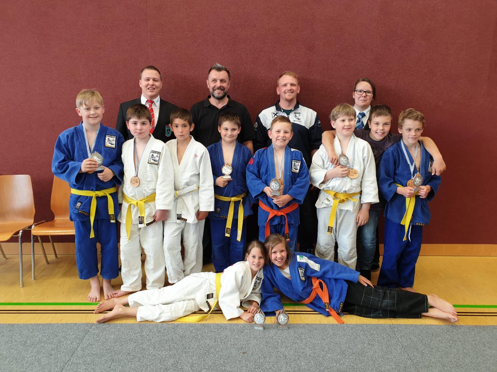 Gutes Ergebnis unserer jungen U12 Judokas beim Rapso Cup in Alkoven