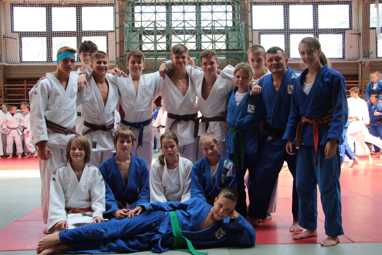 Int. Judo Trainingslager in Baja (Ungarn) von  12. Aug. bis 15 Aug. 19