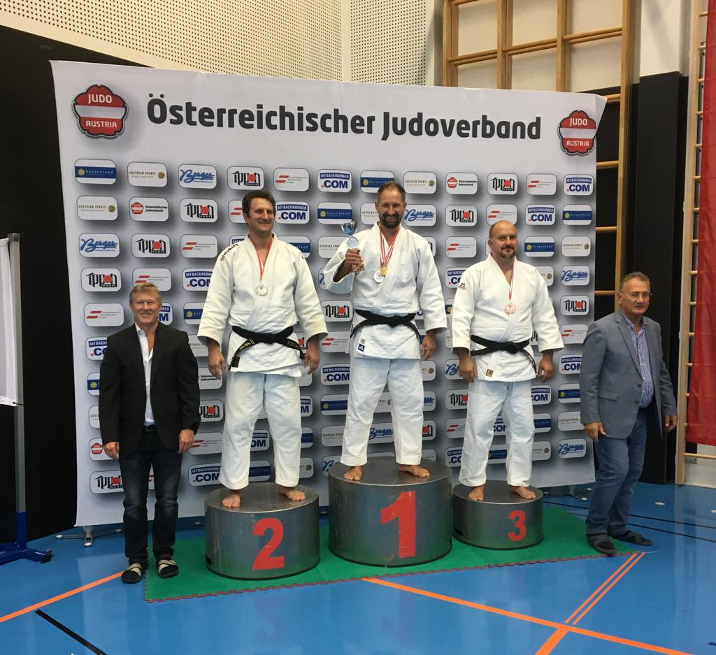 Buchegger Thomas wurde Österreichischer Meister bei den 29. Int. Veteran Austrian Master in Linz