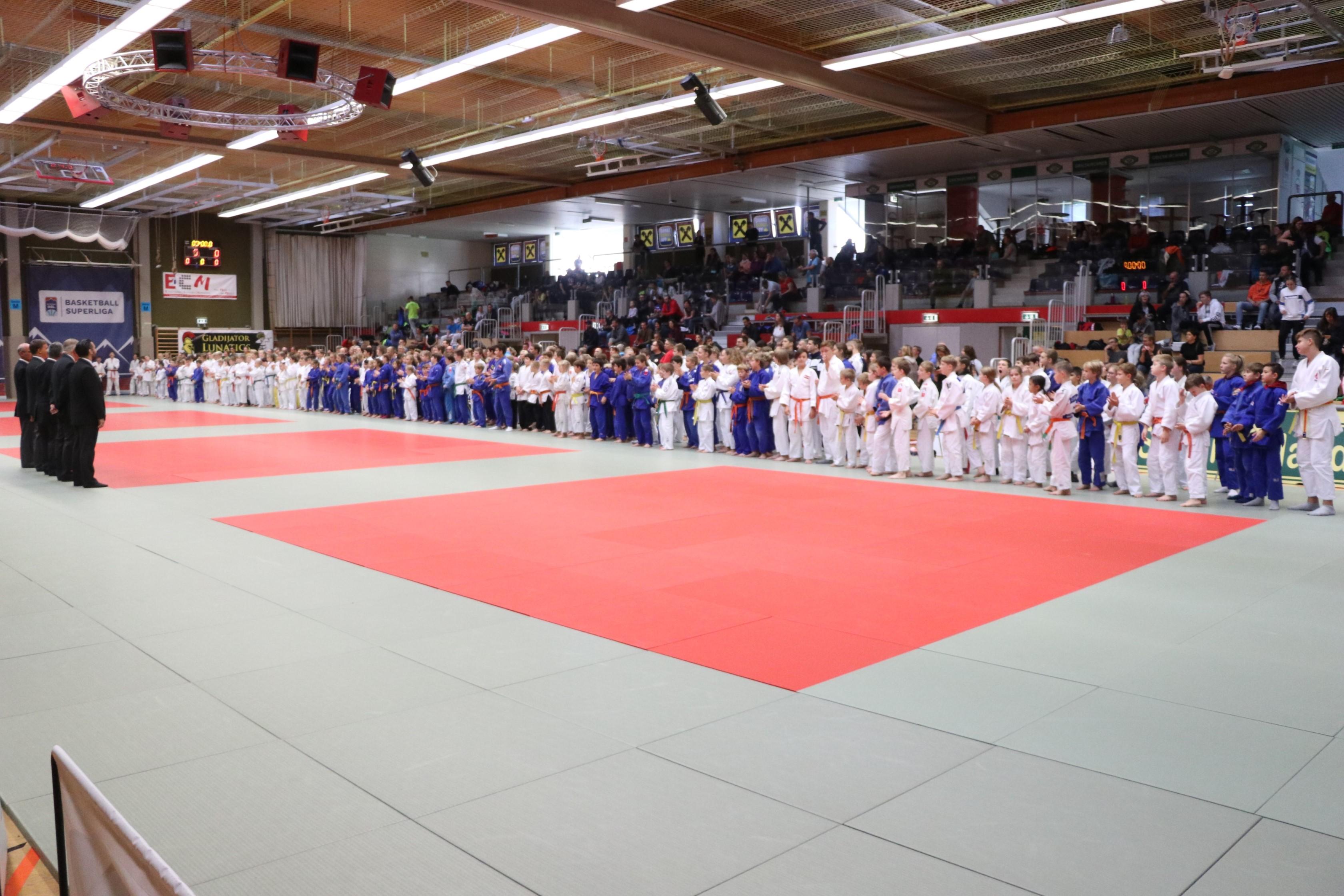 Sehr gute Leistung beim Int. Judoturnier Colop Masters für U12 – U16 in Wels