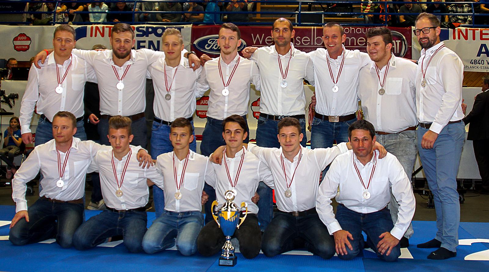 Judo Union Kirchham steigt in die 1. Österreichische Judo Bundesliga auf!