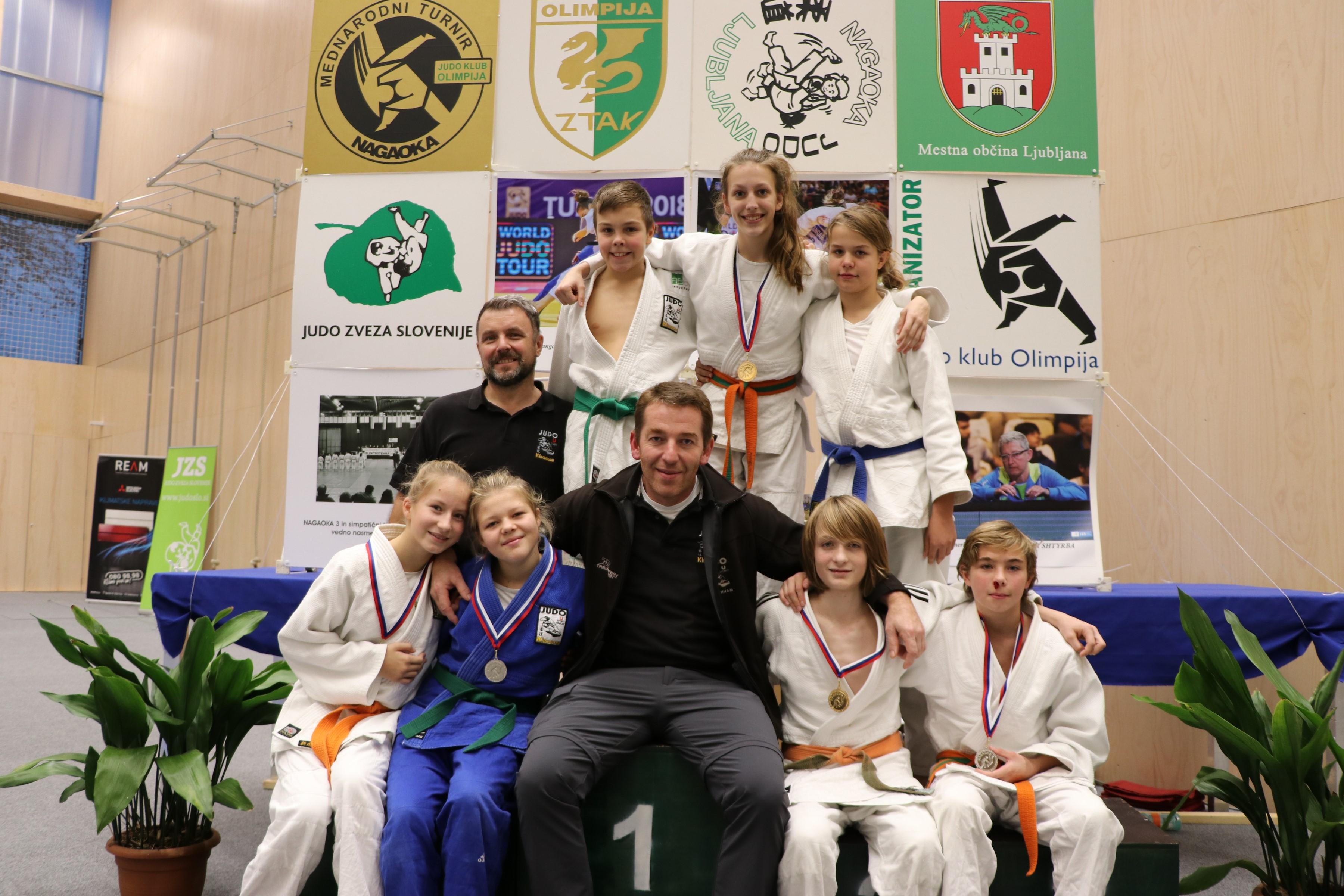 Kirchham startet mit dem Team Upperaustria beim Int. Judoturnier MINI NAGAOKA CUP LJUBLJANA in Slowenien