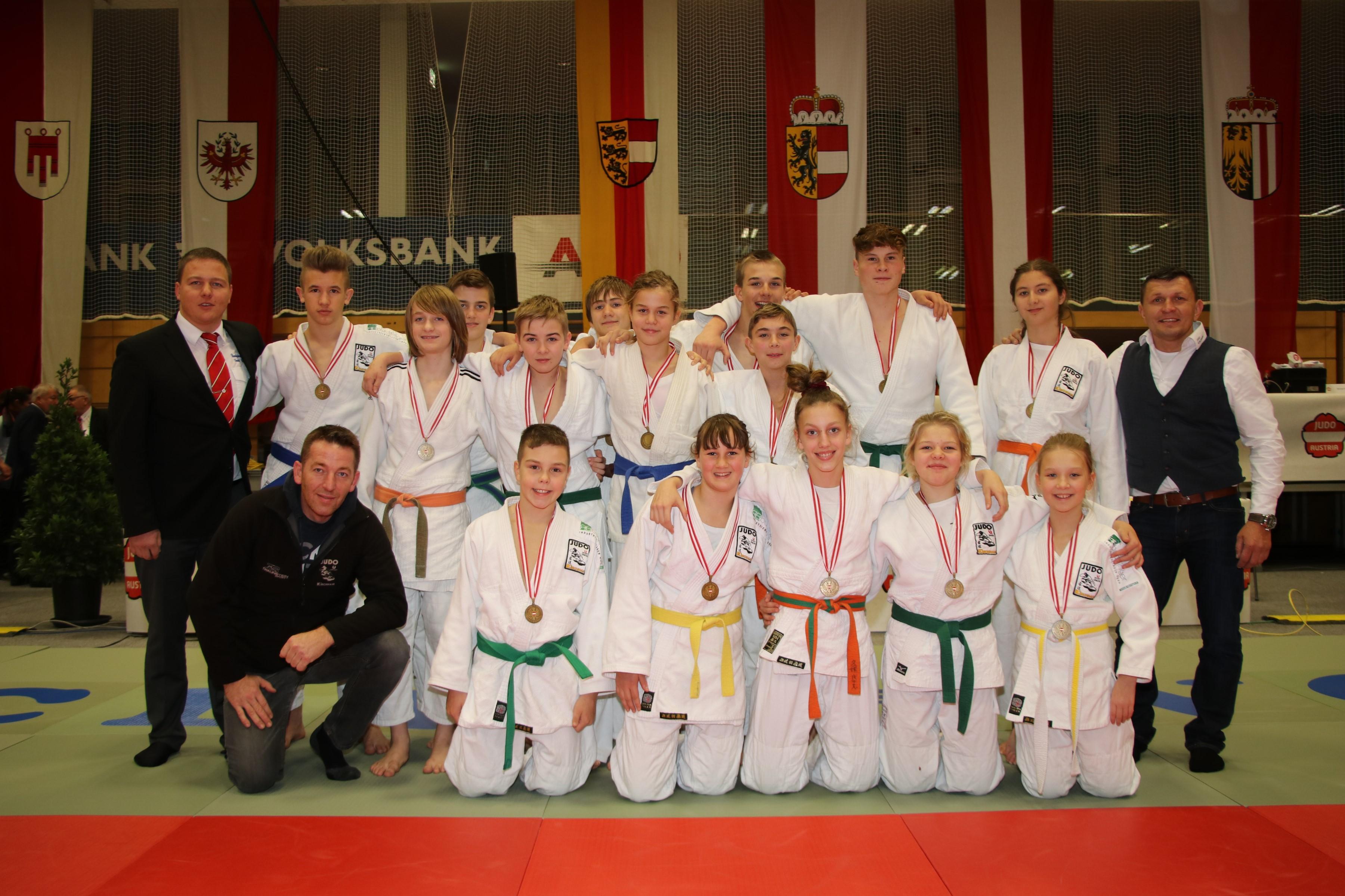 3. Platz für Kirchham bei den Österreichischen Mixed Schülermannschaftsmeisterschaften U16 in Kufstein
