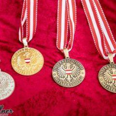 Silber und Bronze bei den Staatsmeisterschaften U18 in Feldkirch